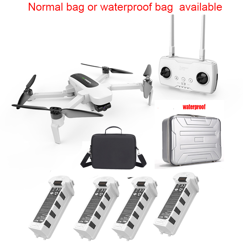Gimbal Camera GPS Quadcopter Rtf Rc Drone Foldable Zino Hubsan H117s High-Speed 4K 1KM