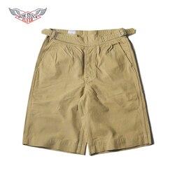 NON MAGAZZINO Dell'esercito Britannico Gurkha Shorts 70 s Mens Khaki Pantaloni Chino Trapano Militare Pantaloni di Scarsità