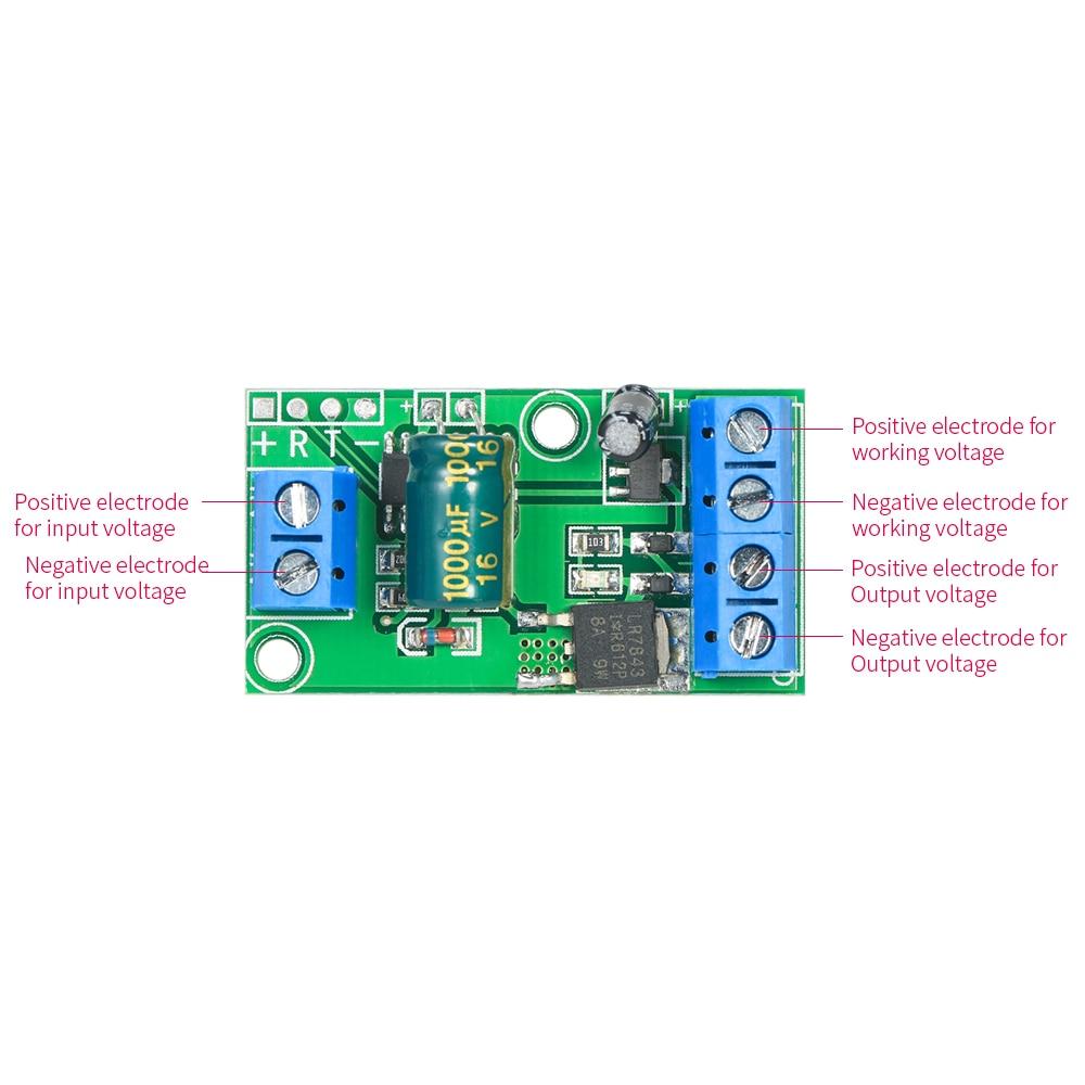 Step-up Voltage Converter Module 0~5V to 0~10V/0~12V/0~24V Voltage and Current Amplifier Board Boost Converter with PWM Signal