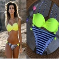 bikini 2017 new sexy women swimwear brazilian Bikinis biquini Swimsuit beach swimming suit bathing suit push up halter maillot