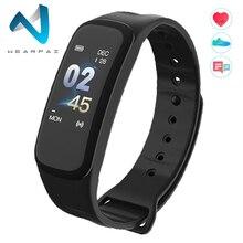 Wearpai C1Plus Смарт-часы кровяное давление фитнес-трекер пульсометр умный браслет черные мужские часы для спорта Восхождение