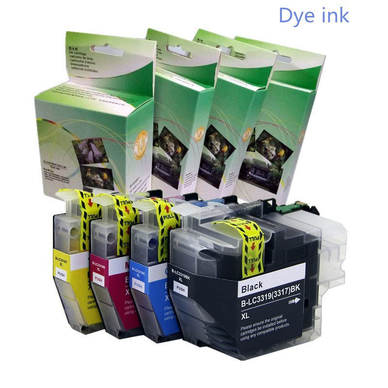 YOTAT Dye Ink LC3319XL Compatible ink cartridge LC3319 LC3317 for Brother MFC-J5330DW MFC-J5730DW MFC-J6530DW MFC-J6730DW main board for brother mfc 7840n mfc 7840 mfc 7840 7840n formatter board mainboard