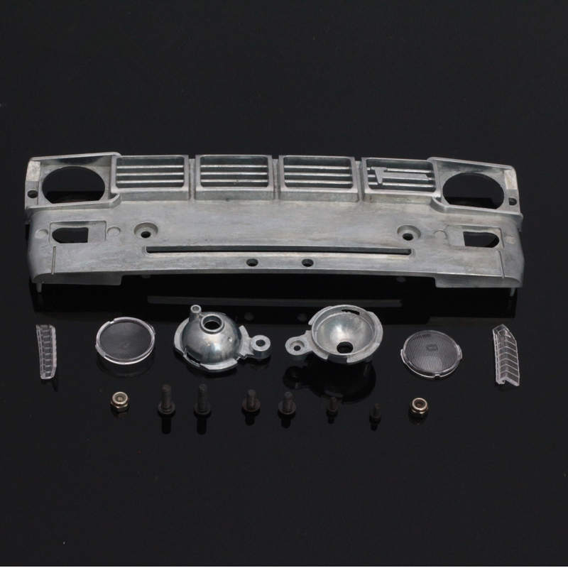 Rc crawler car upgrade parts metal Intake net kits for 1/10 rc tamiya bruiser hilux 4wd tf2 remote control toys model car(China)
