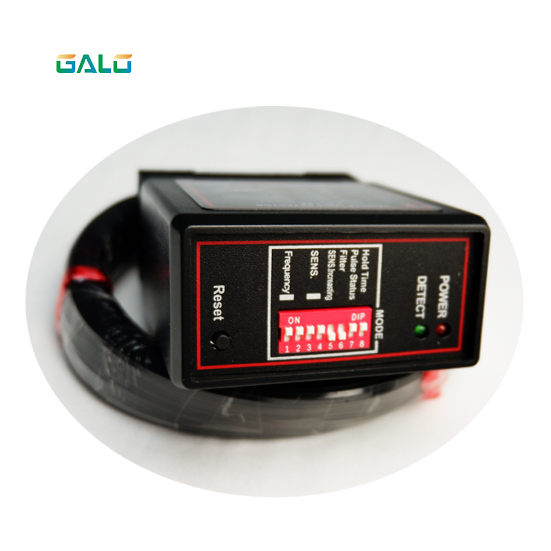 AC220V Ground Sensors Traffic Inductive Loop Vehicle Detector Signal Control With 50m 0.5mm Loop Coil For Car Packing System