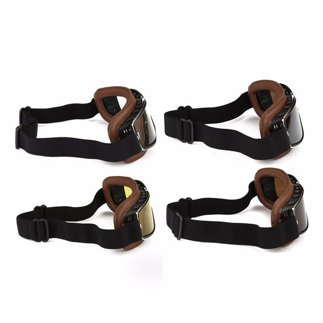New Arrival ABS PC lens Motorcycle Motorbike Flying Scooter ATV Goggles Helmet Glasses Windproof Anti-UV