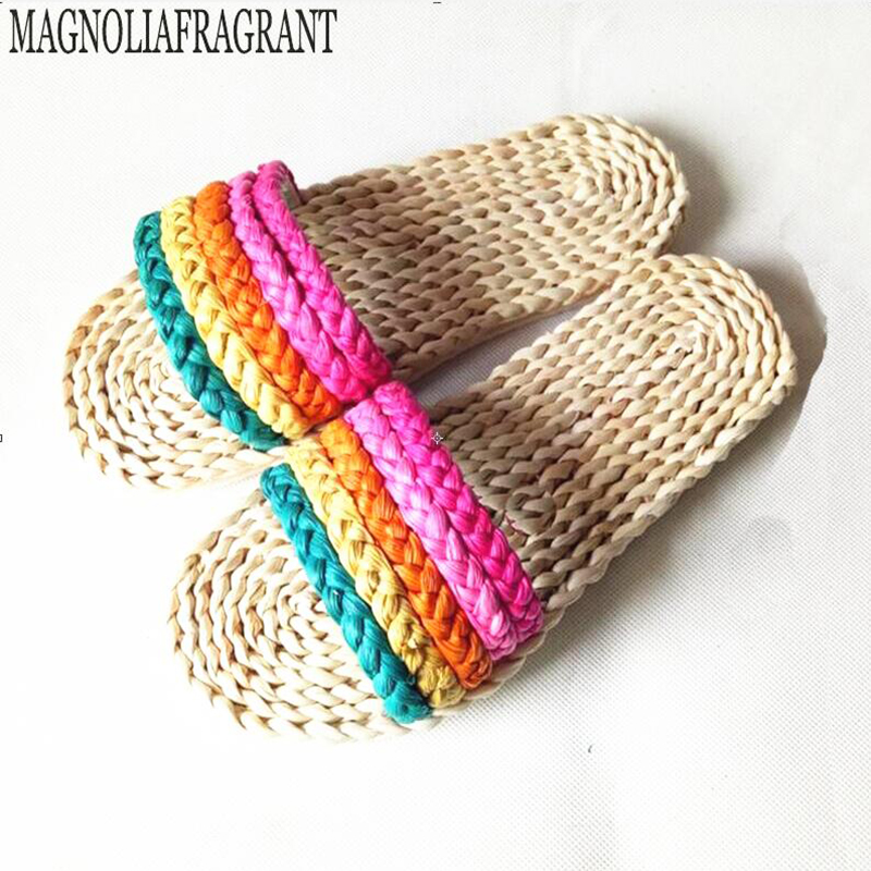 National wind straw sandals shoes fashion shoes casual shoes handmade straw sandals ecological h275 various straw sacr