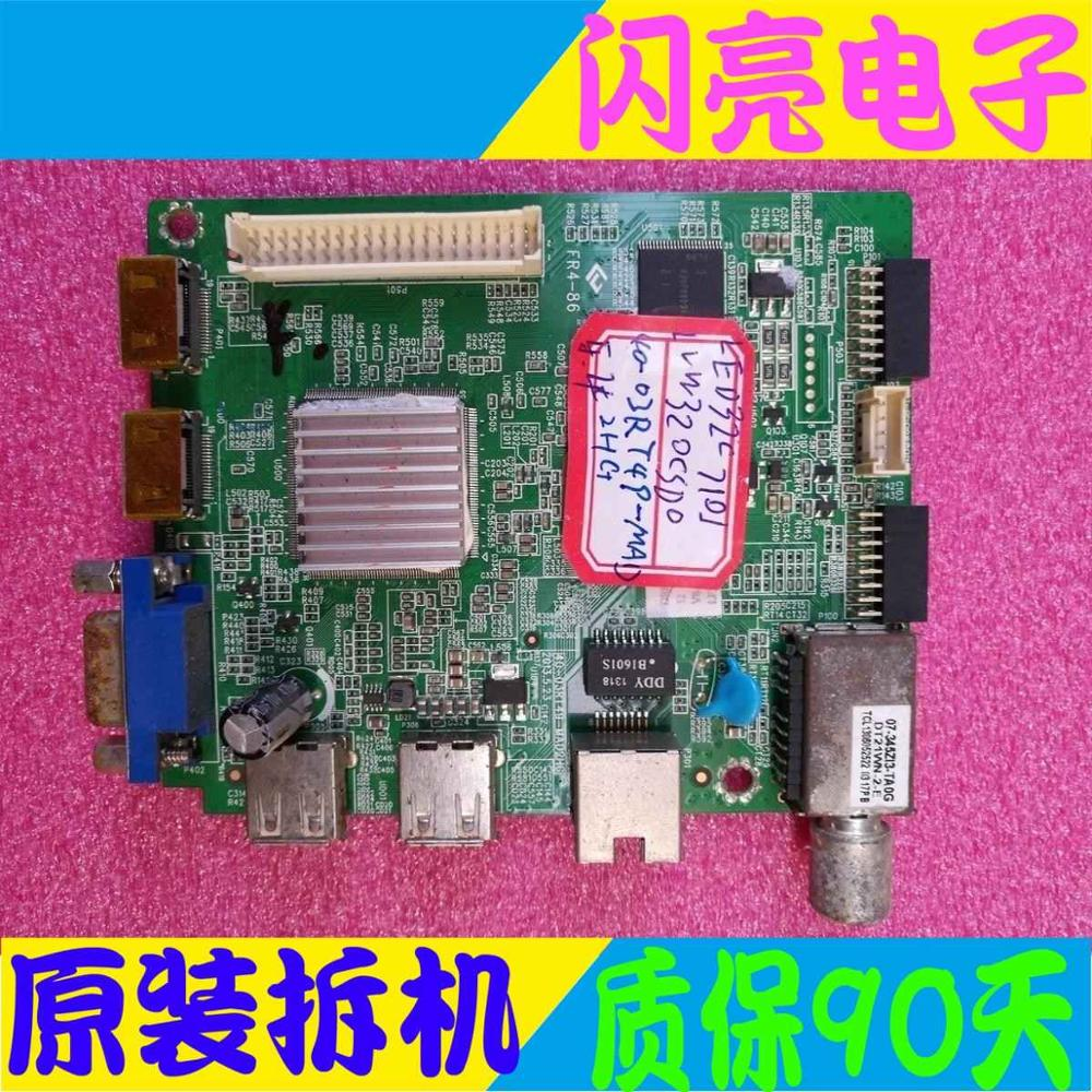 Main Board Power Board Circuit Logic Board Constant Current Board Led 32c710j Motherboard 40-03rt49-mad2hg Screen Lvw320csd0 Audio & Video Replacement Parts