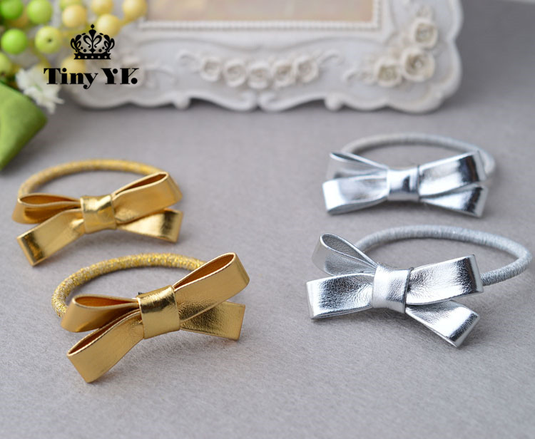 PU Leather Hair clips children girls hair accessories Hair Rope Bow hairpins barrettes headwear Full Cover clip 1pc luxury women girls crystal hair clips opal leaf resin flower hairpins headwear jewelry elegant barrettes hair accessories
