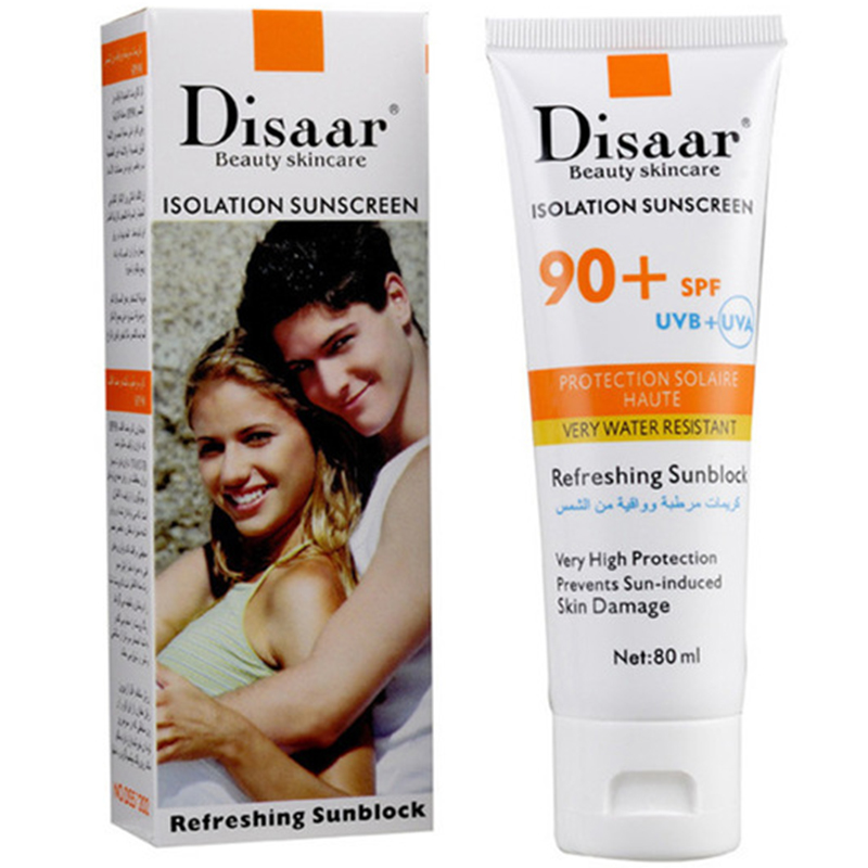 Disaar Moisturizing Sunscreen Spf90Pa++ Isolation Uv Sunscreen Waterproof Concealer Sunscreen