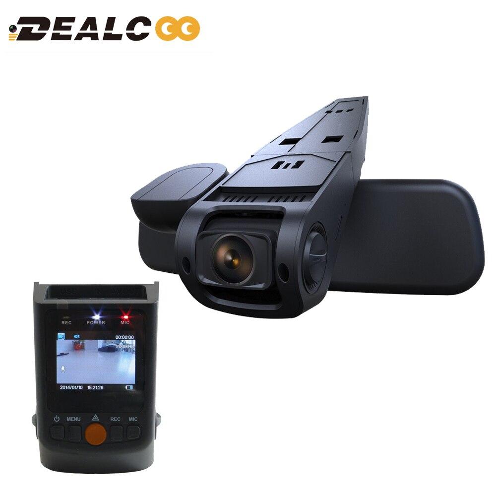 Dealcoo Car DVR B40 Novatek 96650 Sony IMX323 170 Lens 1080P Full HD Hidden Mini Car Dash Cam Registrar Dashcam Paking Monitor