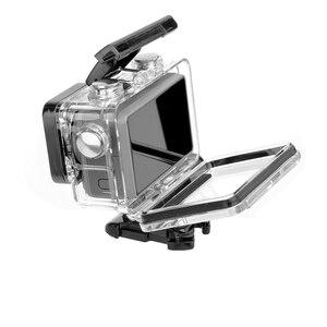 Image 2 - 60M custodia impermeabile macchina fotografica di azione diving custodia telaio di protezione della copertura per dji osmo Accessori macchina fotografica di azione