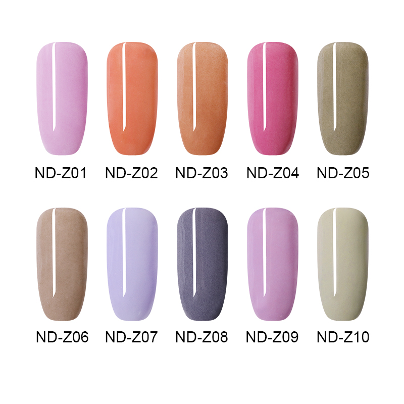 Image 3 - NICOLE DIARY 10g Dipping Nail Powder Without Lamp Cure Natural Dry  Color Dipping Nail Powder Nail Art Decoration for DIY Nails-in Nail Glitter from Beauty & Health