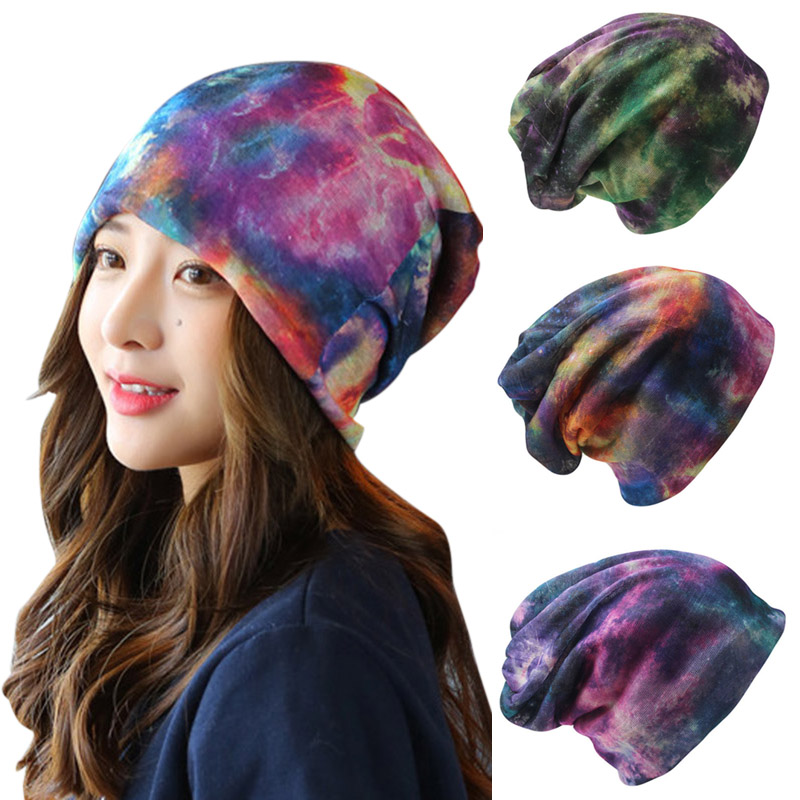 Fashion Casual Women Hat Knitted Cap Skullies 2 Way Use Spring Autumn Beanies Scarf Wrap  -MX8 women cap skullies