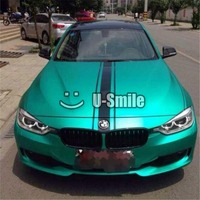 Premium Tiffany Blue Matte Metallic Vinyl Film Sheet Bubble Free Car Wraps