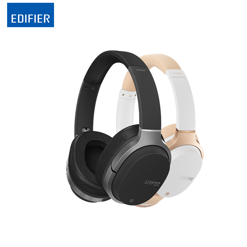 Wireless Bluetooth headphones folable headset Edifier W830BT Noise Isolation Ear Headphone Support NFC & Apt-X  wireless vykon mk 4 3 5mm in ear earphone headphone w mic for samsung iphone