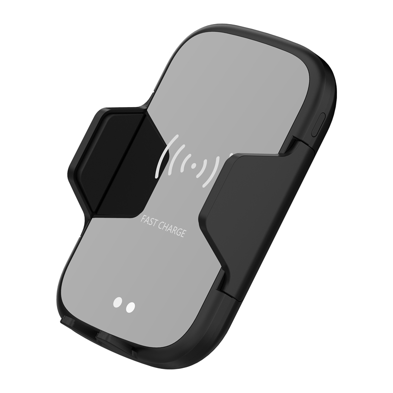 10W QI Wireless Car Charger automatic clamp Air Vent Mount Phone Holder For iPhone XS Max Samsung S10 xiaomi max in Car Chargers from Cellphones Telecommunications