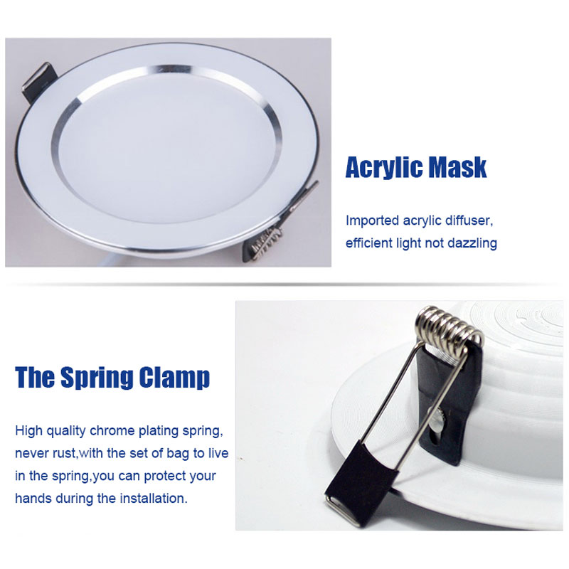 Image 5 - 4PCS Dimmable Waterproof LED Down lights 5W 7W 9W 12W 15W LED Downlight  Outdoor Leds Ceiling Lamp For Bathroom Bulb-in Downlights from Lights & Lighting