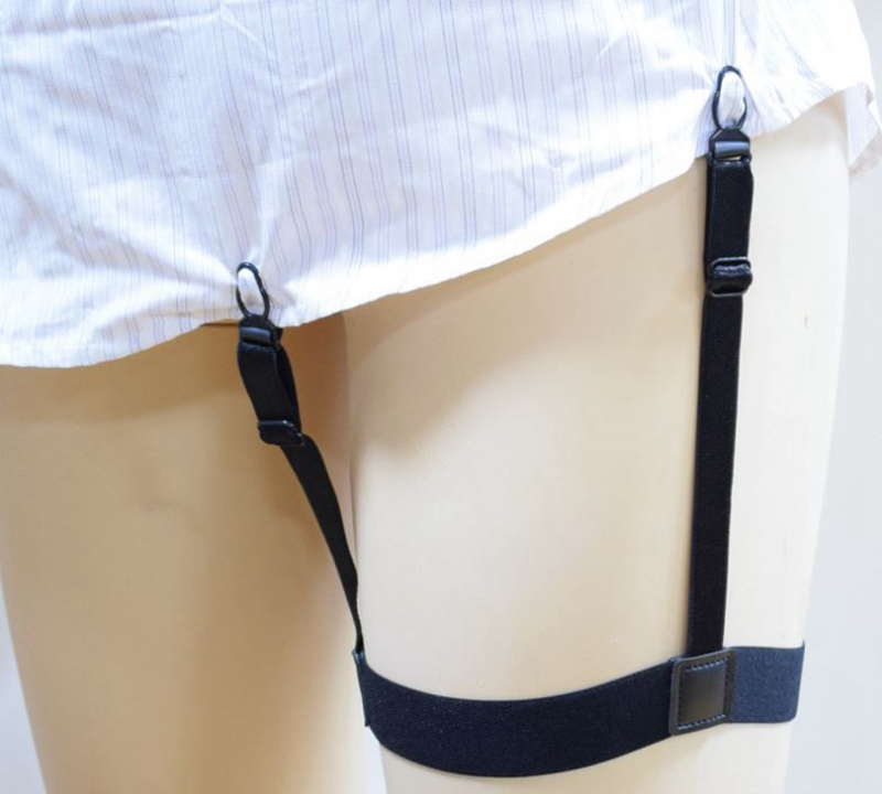 Free Shipping+Wholesale Men Gentleman Leg Thigh Elastic Shirt Stays Garter  Belt Suspender Shirt Holder,200 pairs/lot-in Men's Suspenders from Apparel  ...