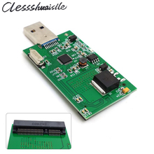 Mini PCI-E mSATA to USB 3.0 External SSD PCBA Conveter Adapter Card without Case