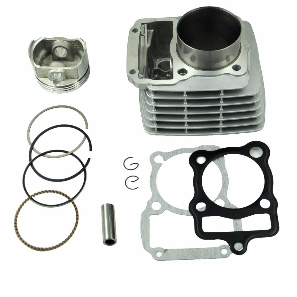 LOPOR 65.5 мм цилиндр и поршень комплект и прокладка все наборы для Honda CG200 мотоцикла 200cc с воздушным охлаждением новый