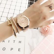 Famous Brand Fashion Classic Wrist Watch Calendar Stainless Steel Quartz Watch Women's Wrist Watches Relogio Feminino