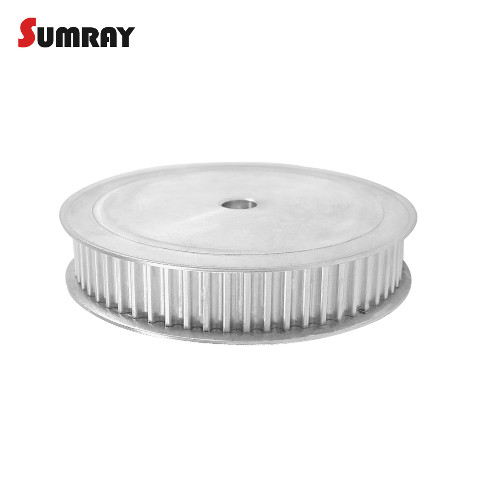 SUMRAY 5M 80T Timing Pulley 8mm 10mm 12mm 16mm 19mm 20mm Bearing Pulley Wheel 16mm Belt