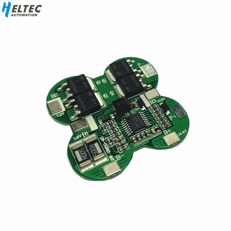 4S 14.8V / 16.8V 20A peak li-ion BMS PCM battery protection board bms pcm for lithium LicoO2 Limn2O4 18650 li battery