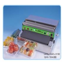 1pcs  Film packaging machine, cold fresh food packaging machine, sealing packing machine