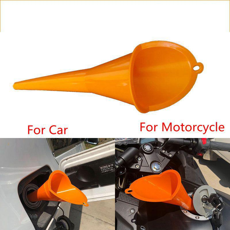 Car Motorcycle Filling Funnel Forward Pour Oil Tool Petrol Dies Transmission Crankcase Oil Filling Fill Funnel For Truck Vehicle