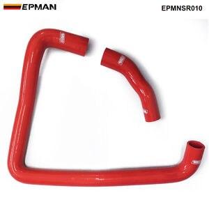 Гоночный силиконовый турбо интеркулер шланг радиатора комплект для Nissan Fairlady Z32 300ZX VG30DET (2 шт.) EPMNSR010