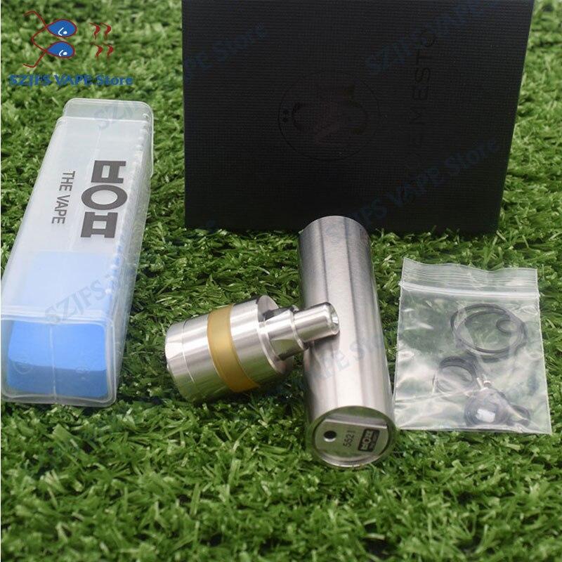 HOT SXK Atto Mod Kayfun Lite Rta Rda Kit 1835018650 Battery 22MM 316ss 2.0ml Capacity Vaporizer Mechanical Mod E Cigarette Vape
