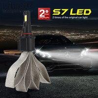 Bjmoto Car Headlamp H1 H4 H7 H11 HB3 HB4 9003 9005 9006 9007 LED Car Headlight