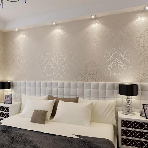 New European Vintage Luxury Damask Wall Paper Embossed