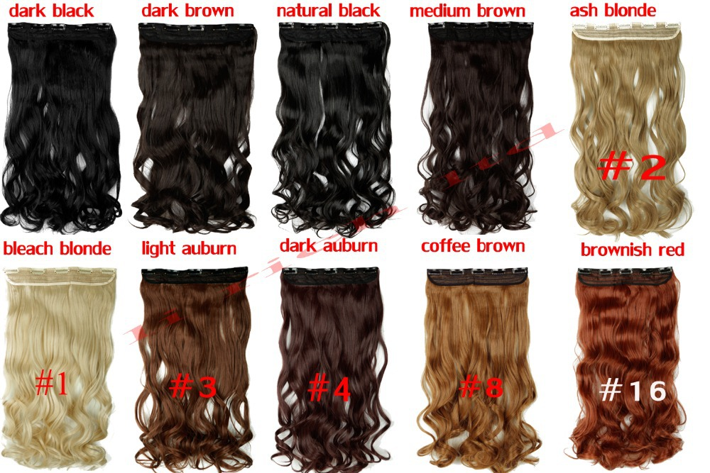 Online shop big discount salelady real natural 24 27 long curly online shop big discount salelady real natural 24 27 long curly clip in hair extension brown black blonde good quality cheap price retail aliexpress pmusecretfo Image collections