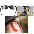 personal security glasses 18deg rearview sunglasses anti-track monitor glasses tool stylish serveillance mirror security parts