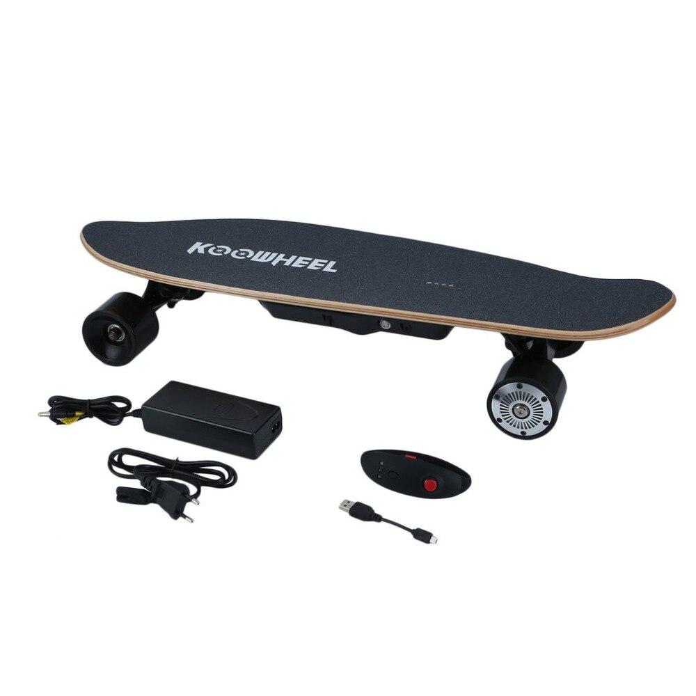 Électrique Stakeboard 4 Roue Scooter Hover Bord Avec Sans Fil télécommande Portable Longboard planche de skate UE Plug DE NOËL Cadeaux