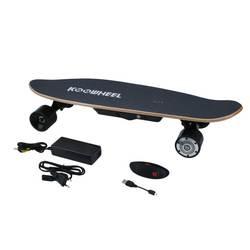 Электрический Stakeboard 4 колеса скутер Hover доска с беспроводной Дистанционное управление портативный Лонгборд скейтборд ЕС Plug подарки на