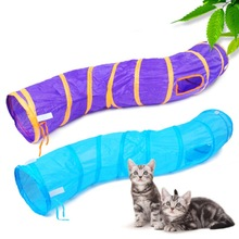 SFunny Pet Cat Tunnel Play Foldable 1 Holes Kitten Cats Toy Bulk Toys Rabbit