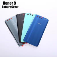 Official Meizu Back Battery Cover Original Tempered Glass Phone Case For Huawei Honor 9 Honor9 Housing