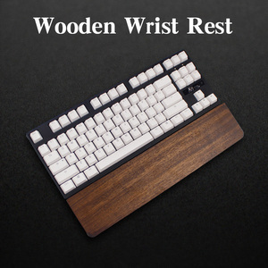 Image 2 - مسند المعصم الخشبي ugyen لوحة مفاتيح الألعاب الميكانيكية المعتمة gh60 بوكر فيلكو 60 87 104