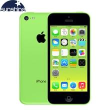 Разблокирована оригинальный Apple IPhone 5C мобильный телефон 4 «Retina IPS 8MP 1080 P IOS iPhone5c WI-FI GPS сотовый телефон