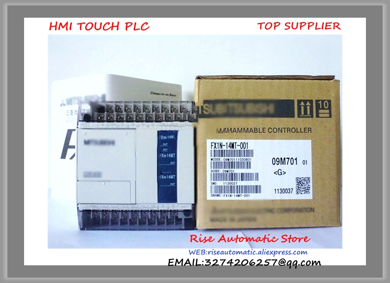 New Original FX1N-14MT-001 PLC Basic Unit  цены