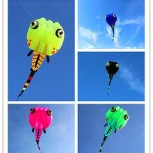 Большой Головастик мягкий воздушный змей линия Рипстоп нейлон воздушный змей Летающий для взрослых наружные игрушки Вэйфан воздушный змей фабрика осьминог