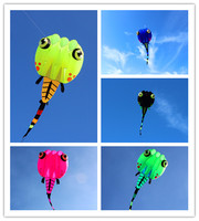 free shipping large tadpole soft kite line ripstop nylon kite flying for adults outdoor toys weifang kite factory octopus