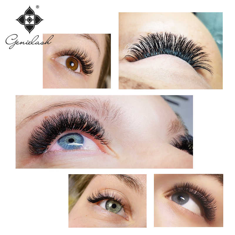 a71d4a47514 ... Genielash Russion volume eyelash extensions natural individual lashes  high quality mink eyelashes professional cilios makeup