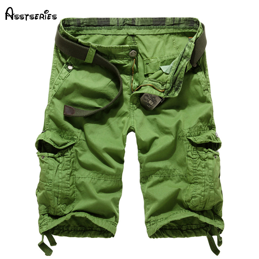 2018 Summer Men Cargo Military Shorts Large Size Thin Material Summer Short Pants For Male Short Masculino D44