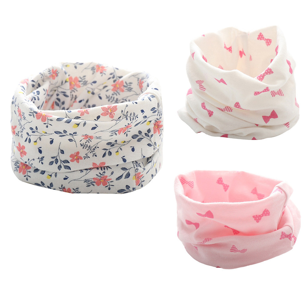 Children's LIC New Autumn Winter Boys Girls Baby Cute Scarf Cotton O Ring Neck Scarves Winter Scarf Baby Children Wool