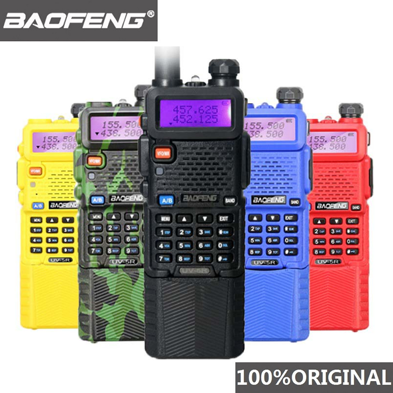 Baofeng UV 5R 3800 Mah 5W Walkie Talkie UHF400 520mhz VHF136 174mhz Portable Two Way Radio Ham UV5R CB Radio UV 5R Hunting Radio