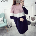 YiZiKKCO Brand Woman Sweaters Pullovers 2016 New Autumn Winter Knitted Sweater Womens Pullover Pull Femme Sweter Mujer WHD403