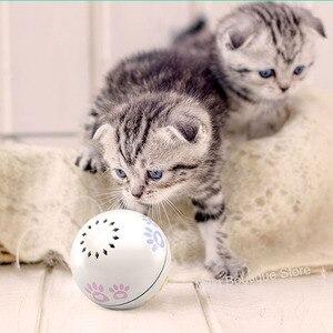 Image 2 - Xiaomi Petoneer Pet akıllı arkadaşı top kedi oyuncak dahili catnip kutu düzensiz kaydırma komik kedi artefakt akıllı pet oyuncak